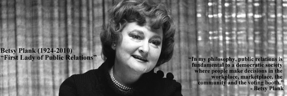 Betsy Plank in 1973
