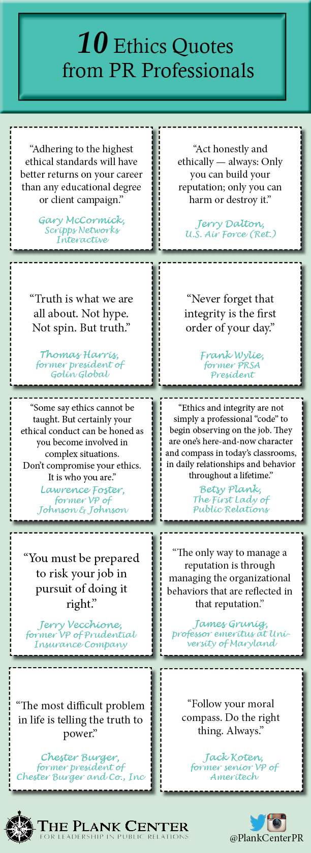 10 Ethics Quotes from PR pros