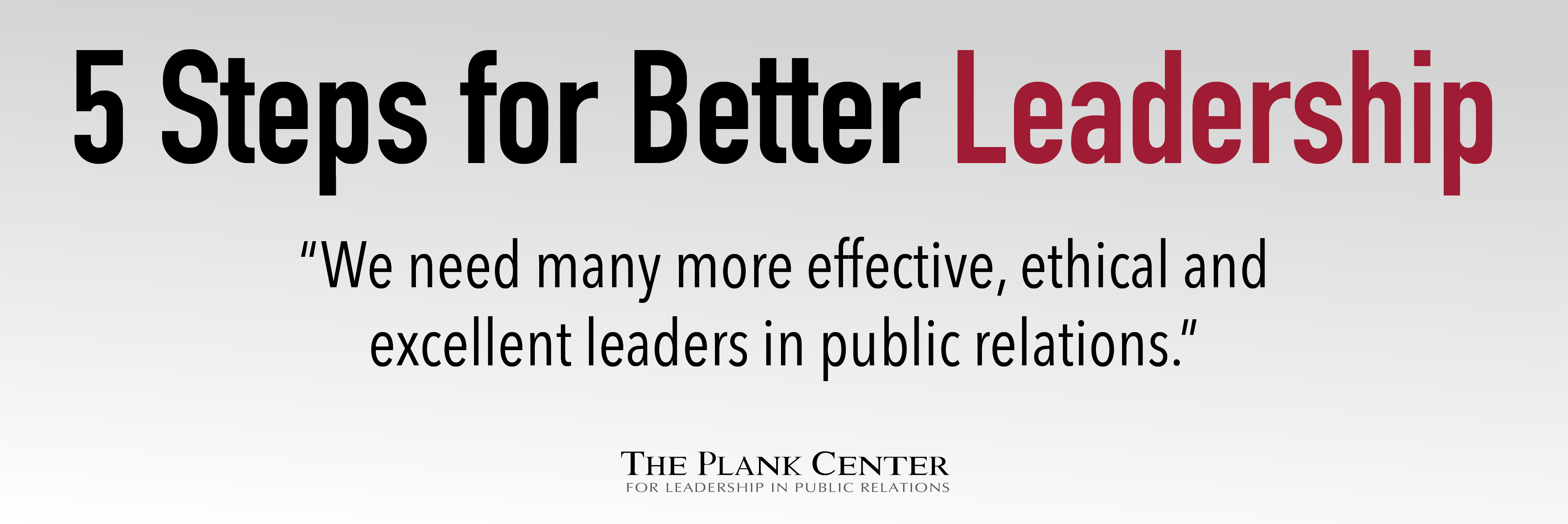 Better Leadership- Web