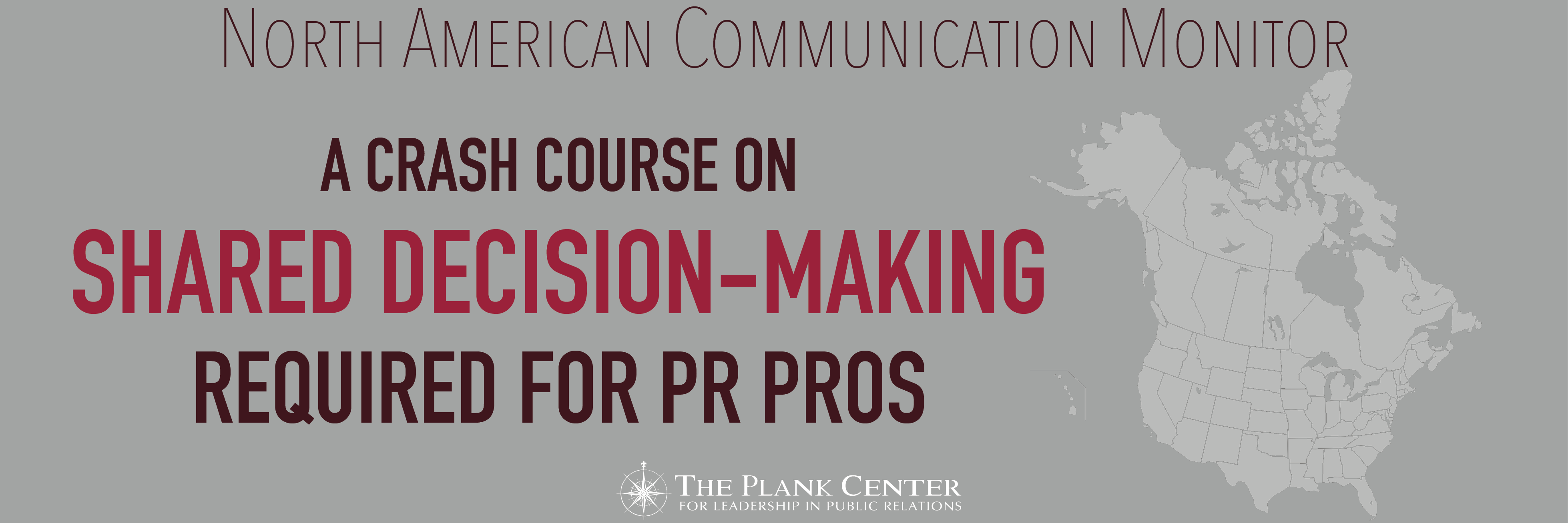 PR pros need a crash course on shared decision-making